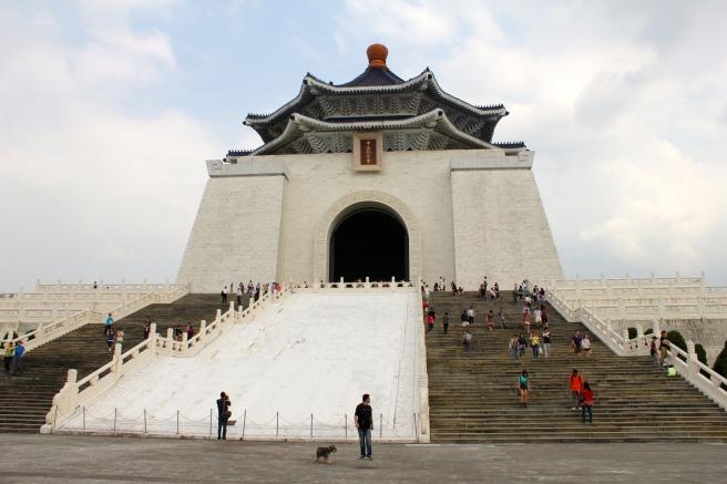 Chiang-Kai Shek Memorial Hall.